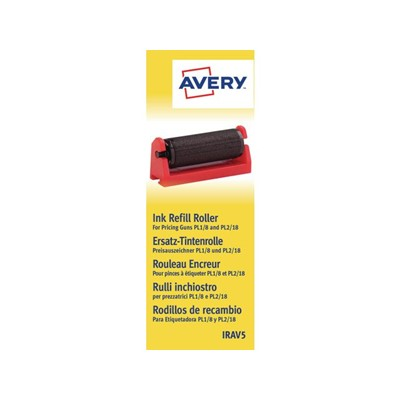 Avery Refill Ink Rollers - Black
